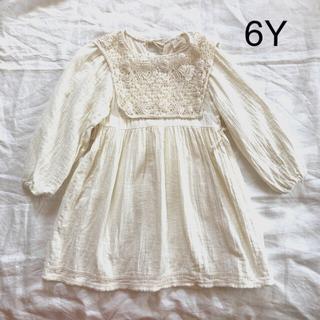 Caramel baby&child  - liilu Liilu オーガニックコットン ドレス ワンピース