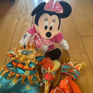 ディズニー(Disney)のミニィマウスぬいぐるみ&着替え(ぬいぐるみ)