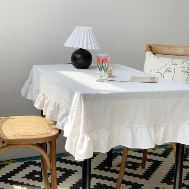 テーブルクロス 韓国 インテリア 雑貨 北欧 海外  人気 フランフラン インテリア/住まい/日用品のキッチン/食器(テーブル用品)の商品写真