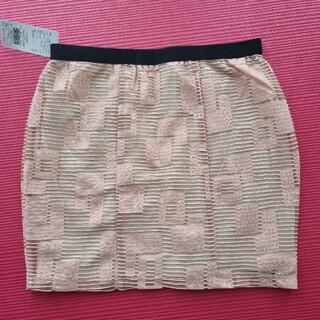 スライ(SLY)のブロックチュールスカート F(ミニスカート)