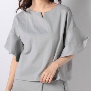 テチチ(Techichi)のTechichi ポンチフレア袖トップス(Tシャツ(半袖/袖なし))