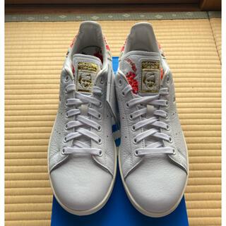 アディダス(adidas)の【adidas】アディダス スタンスミス フローラル 刺繍 FY8734(スニーカー)