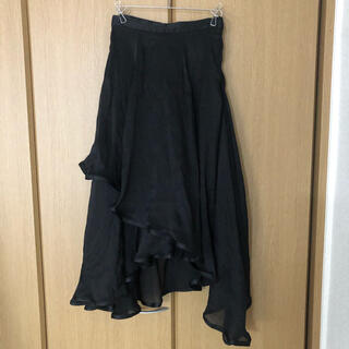 Lily Brown - リリーブラウン シアーアシンメトリースカート