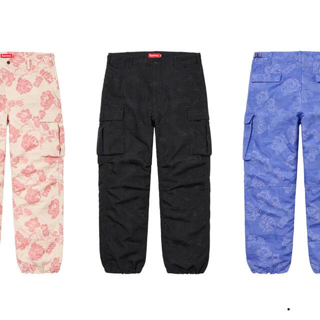 Supreme(シュプリーム)のFloral Tapestry Cargo Pant 試着のみ! メンズのパンツ(ワークパンツ/カーゴパンツ)の商品写真