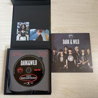 防弾少年団(BTS) - BTS 韓国盤アルバム「DARK&WILD」トレカJIN