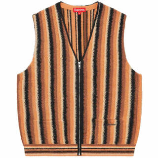 Supreme - Supreme Stripe Sweater Vest ストライプ セーター