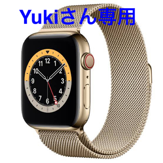 Apple Watch - Apple Watch Series 6(GPS + Cellularモデル)