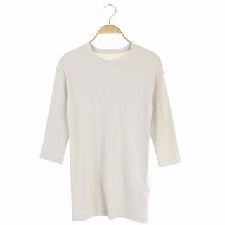 DEUXIEME CLASSE - ドゥーズィエムクラス 20SS RIB Tシャツ カットソー 七分袖 グレージュ