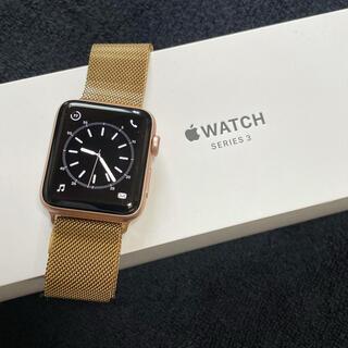 Apple Watch - Apple Watch 3 ピンクゴールド 42mm  バッテリー95%