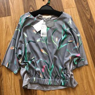 自由区 - 【新品未使用】自由区ハーレクインコラボ38 自宅洗濯可能 ブラウス Tシャツ