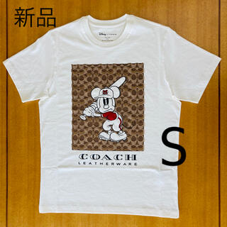 COACH - DISNEY X COACH ミッキーマウス シグネチャー Tシャツ