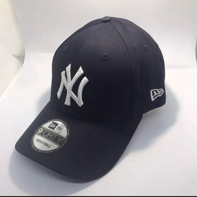 NEW ERA(ニューエラー)のニューエラ キャップ NY ヤンキース ネイビー メンズの帽子(キャップ)の商品写真