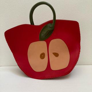 アチャチュムムチャチャ(AHCAHCUM.muchacha)のムチャチャ あちゃちゅむ りんごバッグ(トートバッグ)