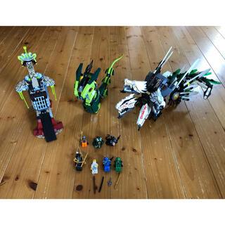 レゴ(Lego)のレゴ ニンジャゴー 9450 激闘 ドラゴン バトル ジャンク品(知育玩具)