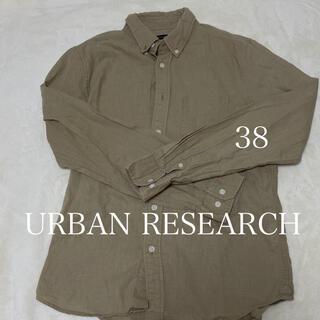 アーバンリサーチ(URBAN RESEARCH)のURBAN RESEARCH ボタンひとつなし(シャツ)