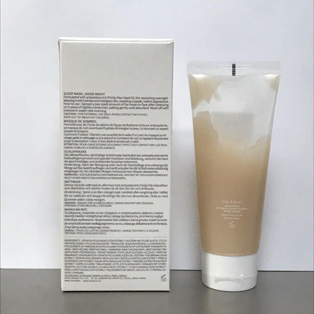 Huxley ハクスリー スリープマスク グッドナイト 120g コスメ/美容のスキンケア/基礎化粧品(パック/フェイスマスク)の商品写真