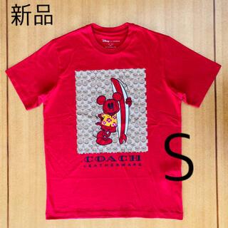 COACH - DISNEY X COACH サーフ ミッキーマウス シグネチャー Tシャツ