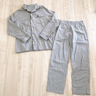 ジーユー(GU)のGU ★ パジャマ クラウン グレー 灰色 Mサイズ(パジャマ)