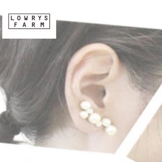 LOWRYS FARM - LOWRYS FARM パールイヤーカフ