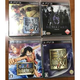 プレイステーション3(PlayStation3)のPS3 4本まとめ売り(家庭用ゲームソフト)