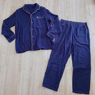 ジーユー(GU)のGU ★ パジャマ メンズ ネイビー 紺色 クラウン Mサイズ(パジャマ)