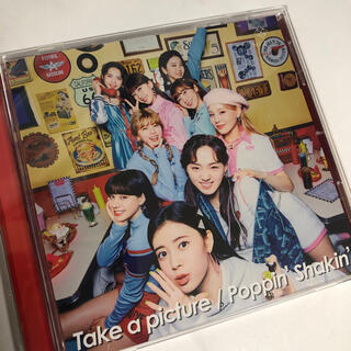 「Take a picture/Poppin' Shakin'」通常盤