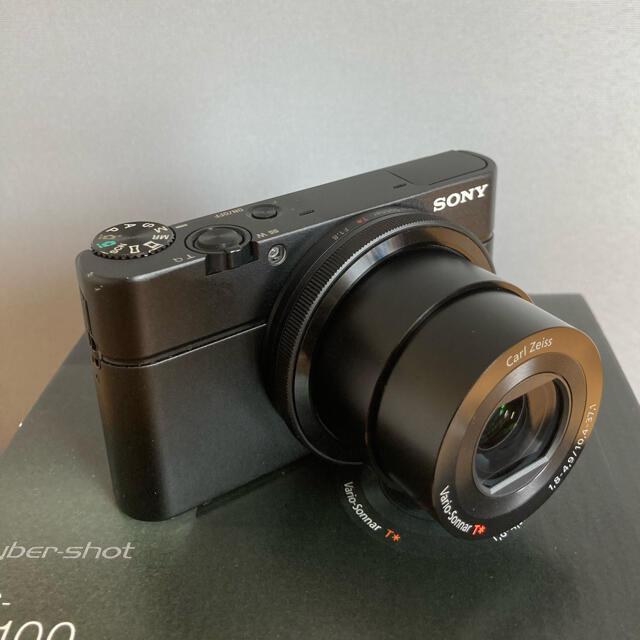 SONY(ソニー)のDSC-RX100 SONY デジタルスチルカメラ スマホ/家電/カメラのカメラ(コンパクトデジタルカメラ)の商品写真