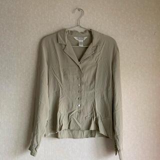 サンタモニカ(Santa Monica)のsilk shirt(シャツ/ブラウス(長袖/七分))