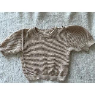 キャラメルベビー&チャイルド(Caramel baby&child )のSoor Ploom Mimi knit top(ニット)