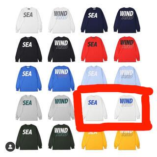 ジーディーシー(GDC)のWIND AND SEA  ロングtシャツ(Tシャツ/カットソー(七分/長袖))
