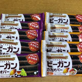 ユーハミカクトウ(UHA味覚糖)のUHA味覚糖 ビーガン カカオバー デーツペースト 2種類(その他)