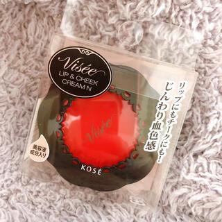 ヴィセ(VISEE)のヴィセ リシェ リップ&チーククリーム N RD-1 ピュアレッド(5.5g)(チーク)