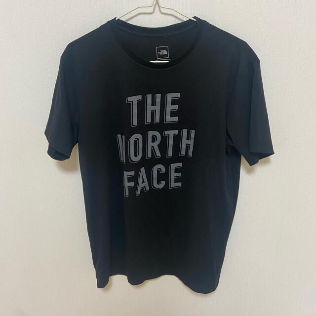 THE NORTH FACE(ザノースフェイス)のTシャツ ノースフェイス ブラック Tシャツ ロゴ付き メンズのトップス(Tシャツ/カットソー(半袖/袖なし))の商品写真