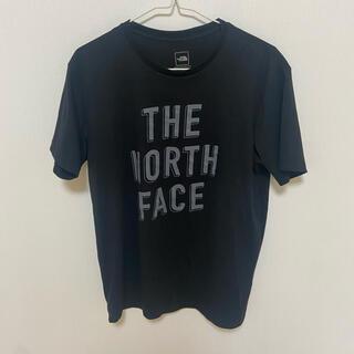 THE NORTH FACE - Tシャツ ノースフェイス ブラック Tシャツ ロゴ付き