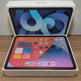アップル(Apple)の新品同様 Ipad Air4 Wifi 64GB AppleCare+保証付き(タブレット)