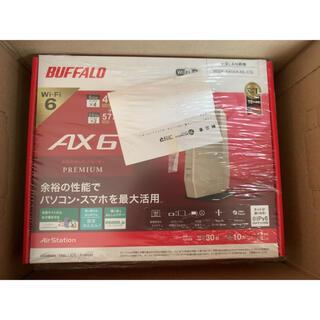 Buffalo - 【納品書あり】WSR-5400AX6-CG BUFFALO 無線LANルーター