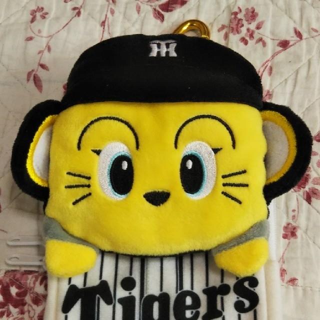 阪神タイガース(ハンシンタイガース)のトラッキー スマホケース スポーツ/アウトドアの野球(記念品/関連グッズ)の商品写真