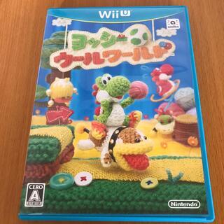 ウィーユー(Wii U)のヨッシー ウールワールド Wii U(家庭用ゲームソフト)