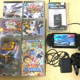 プレイステーションポータブル(PlayStation Portable)のPSP本体とソフト(携帯用ゲーム機本体)