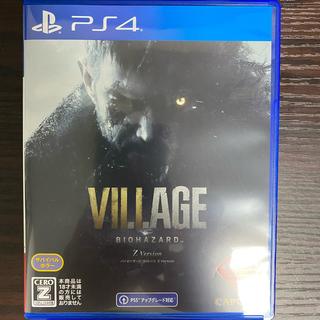 特典付 PS4 BIOHAZARD VILLAGE バイオハザード ヴィレッジ