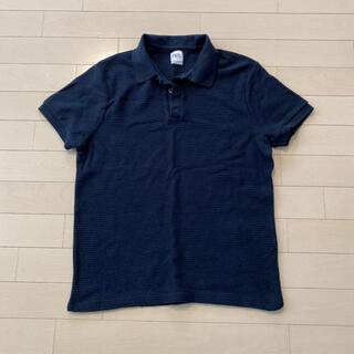 ザラ(ZARA)のZARA ポロシャツ ネイビー サイズM(ポロシャツ)
