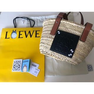 LOEWE - 新品 ロエベ  トトロ かごバッグ Sサイズ まっくろくろすけ かご バッグ