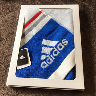 アディダス(adidas)のadidas スポーツタオル 新品箱入り(その他)