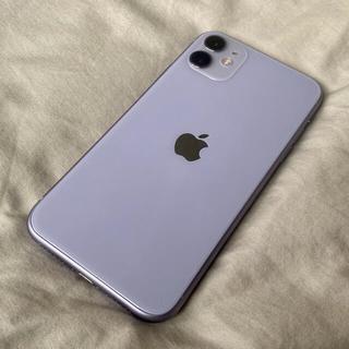 iPhone - おまけ多数iPhone11 パープル 64GB SIMロック 解除済み