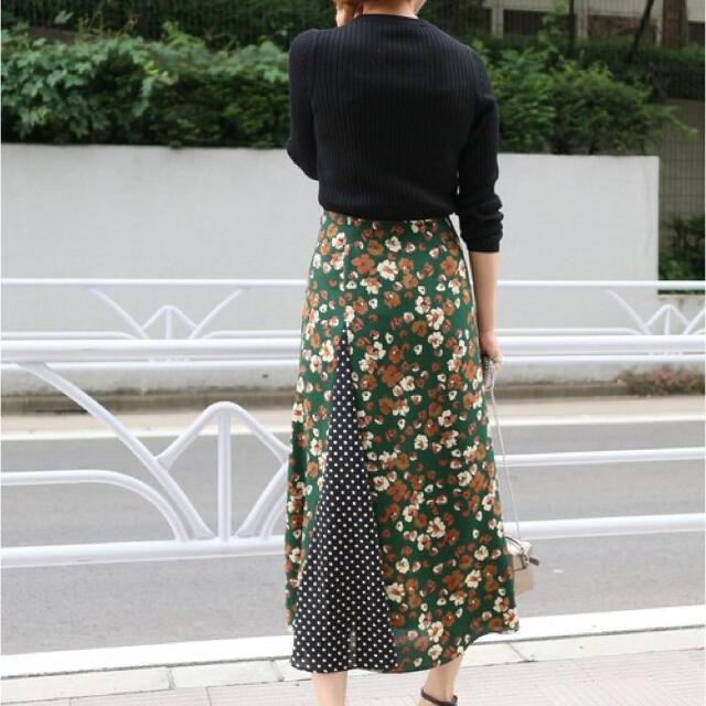 IENA(イエナ)のIENA レトロプリント ランダムパネルスカート レディースのスカート(ロングスカート)の商品写真