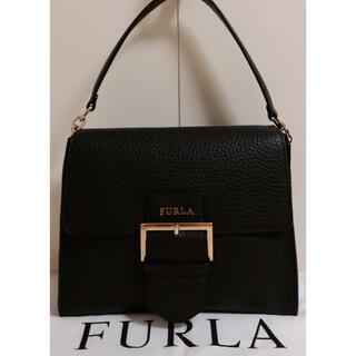 Furla - ☆超美品☆送料無料☆FURLAフルラレザー2WAYショルダーバッグ☆ブラック☆