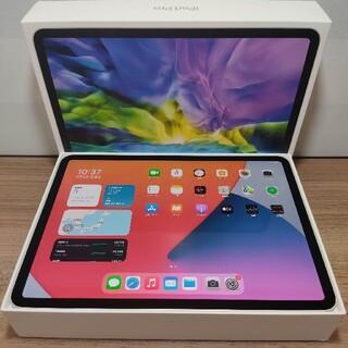 アップル(Apple)の新品同様Ipad Pro11第2世代 2020 Wifi 128Gb保証付き(タブレット)