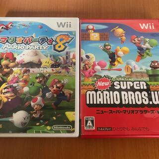 Wii - マリオパーティ8 Wii  ニュースーパーマリオブラザーズ