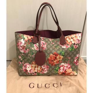 Gucci - ☆美品 GUCCI ブルームス リバーシブルトート☆