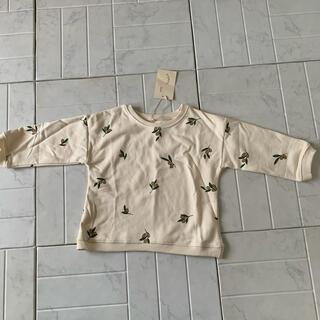 コドモビームス(こども ビームス)のオリーブ柄トップス(Tシャツ/カットソー)